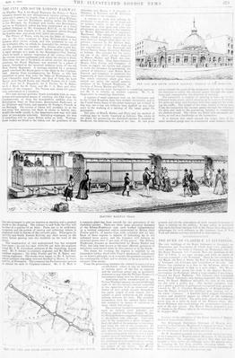 Electric Tram, taken from The Illustrated London News, 1890