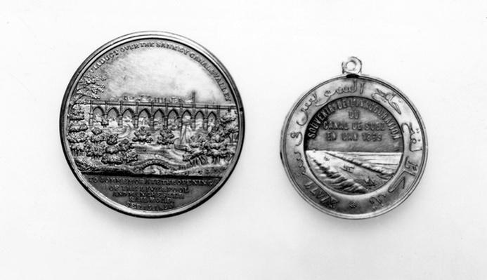 Medallion commemorating the Opening of the Liverpool and Manchester Railway, 1830