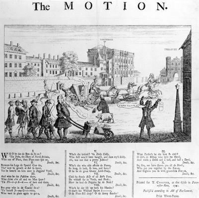 The Motion, 1741