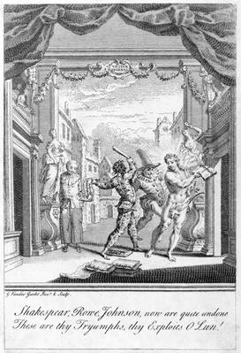 Satire on the Popular Stage, 1729