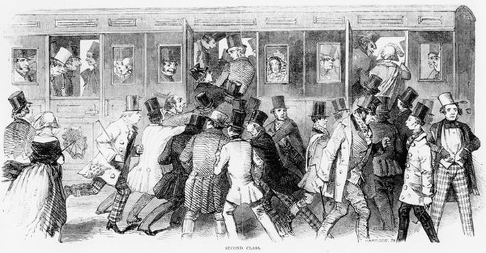 Epson Races 1847: The Railway - Second Class
