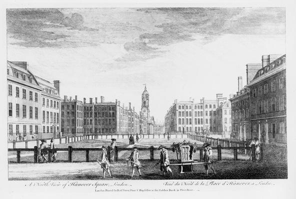 A north view of Hanover Square, London