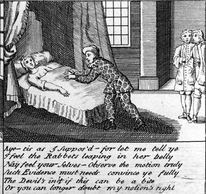The Doctor in Labour, or the New Whim Wham from Guildford, circa 1726