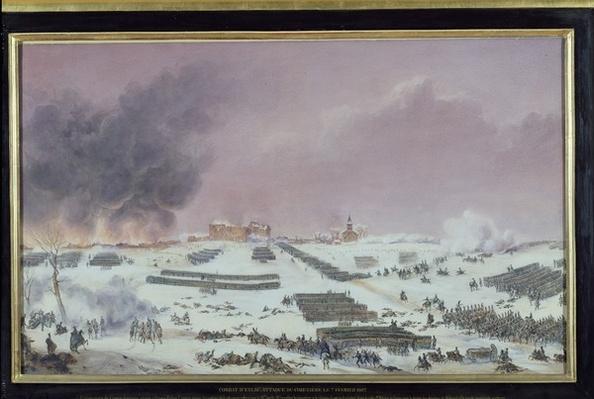 Battle of Eylau, 1807