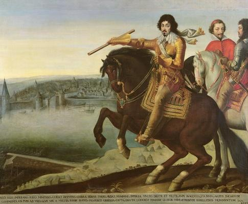 Louis XIII at the Siege of La Rochelle