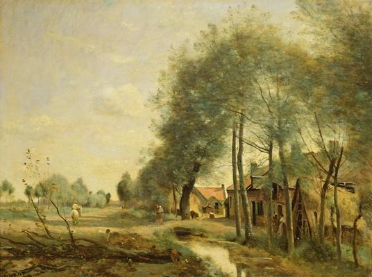 The Sin-le-Noble Road near Douai, 1873