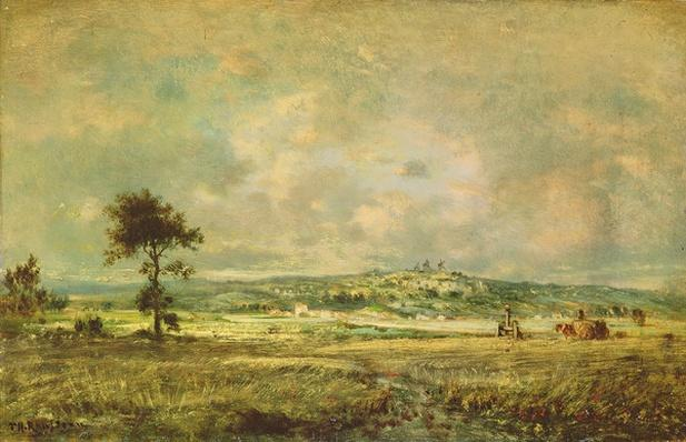 Effects of a Storm, View of the Plain of Montmartre