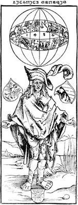 Woodcut of a Syphlitic Man, after Albrecht Durer, 1496