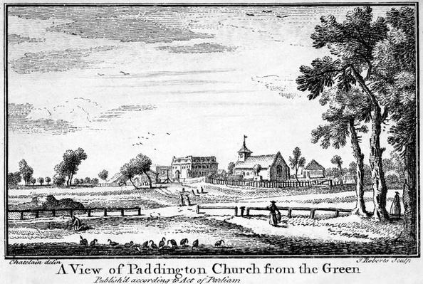 A View of Paddington Church from the Green