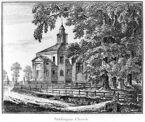 Paddington Church, published by Cadell and Davies, 1795