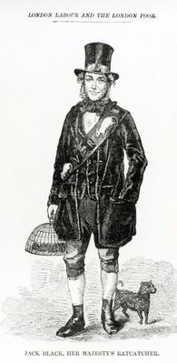 Jack Black, Her Majesty's Ratcatcher, illustration taken from The London Labour and the London Poor by Henry Mayhew, circa 1840
