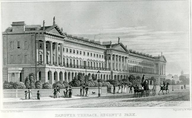 Hanover Terrace, Regent's Park, London