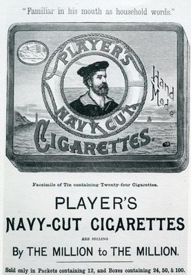 Player's Navy Cut Cigarettes, 20th Century