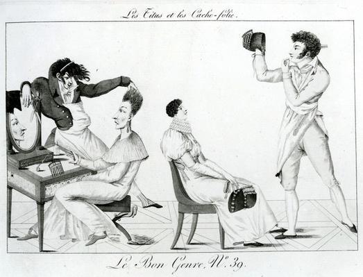Le Bon Genre - Les Titus et les caches-folie, 1812