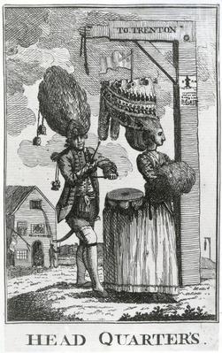 Head Quarter's, 1777