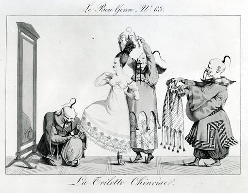 Le Bon Genre - La Toilette Chinoise, 1813