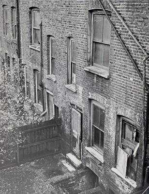 The rear of 29 Hanbury Street, 1888