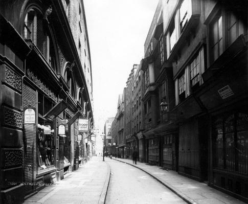 Holywell Street, 19th Century