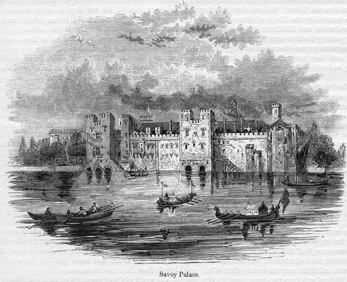 Savoy Palace, 1661
