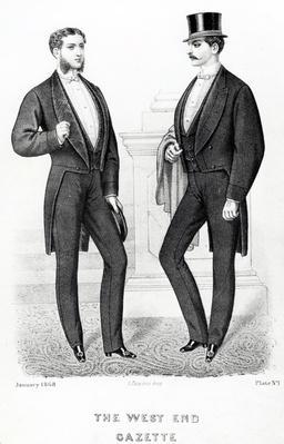 The West End Gazette, English Costumer, 1868