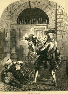 Murder of William Mountford, 1692