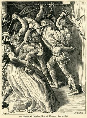 The Murder of Cenulph, King of Wessex, 821