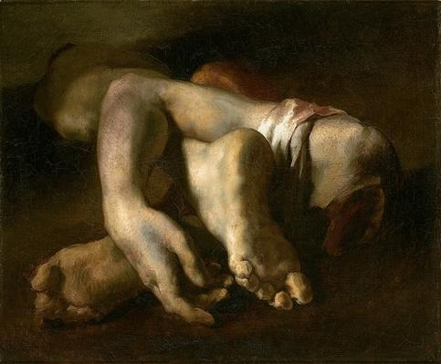 Study of Feet and Hands, c.1818-19