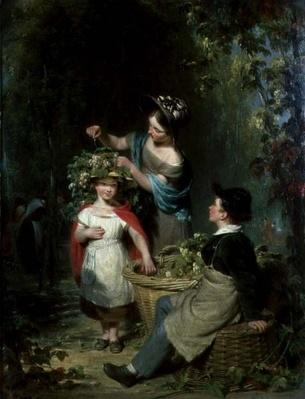 The Hop Garland, 1834