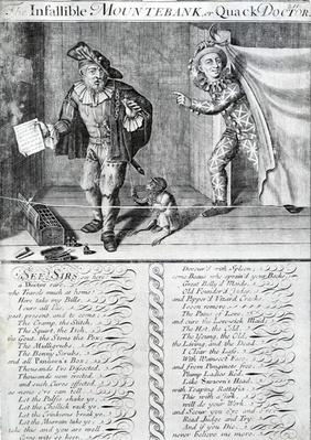 The Infallible Mountebank or Quack Doctor, 1688-1705
