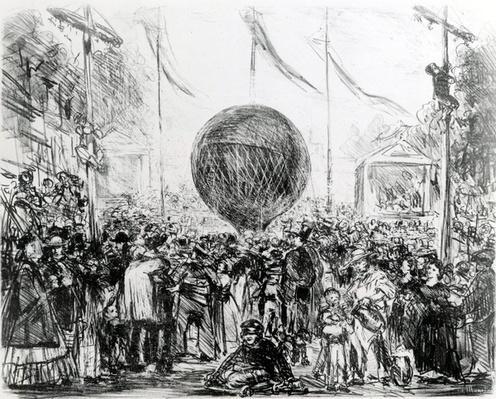 The Balloon, 1862