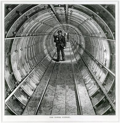 The Tower Subway, 1870