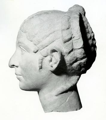 Syrian Woman sometimes identified as Cleopatra, first century BCE (profile)