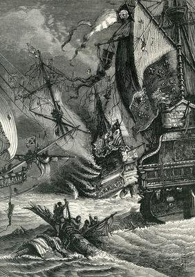 Destruction of the Spanish Armada, 1865