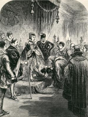 Reception of the First Russian Embassy in England, 1865