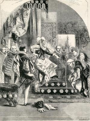 The Dismission of the Earl of Murray and the Abbot of Kilwinning by Elizabeth, 1865