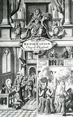 'The History of the Reformation of the Church of England - the Second Part' 17th Century