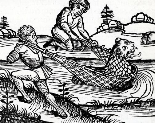 Illustration taken from the Nuremburg Chronicle, 1493