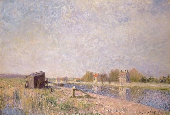 The Loing at Saint-Mammes, 1884