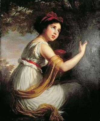 Portrait of Julie Le Brun, c.1797