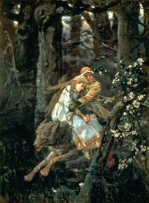 Prince Ivan on the Grey Wolf, 1889