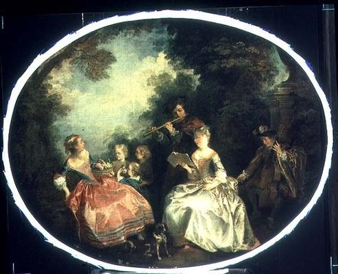 Concert in the Park, 1720
