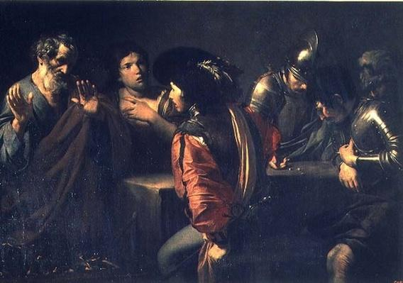 The Denial of St. Peter, 1620
