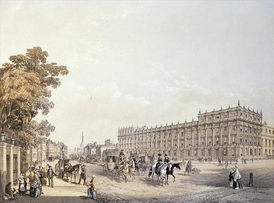 The Treasury, Whitehall, pub. by Lloyd Bros. & Co. 1852