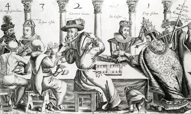 Royal & Ecclesiastical Gamers, c.1609