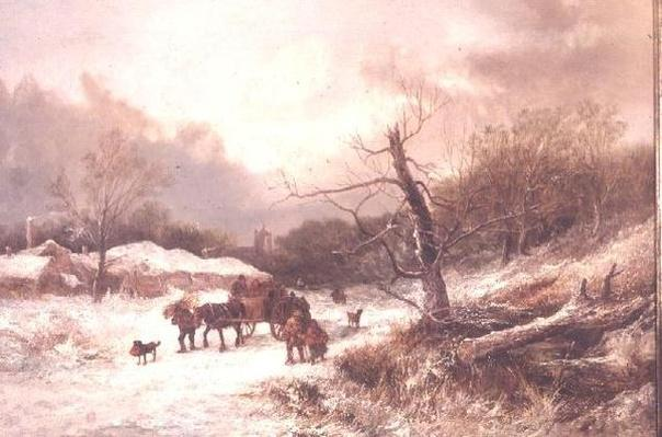 Winter on the borders of Sherwood Forest