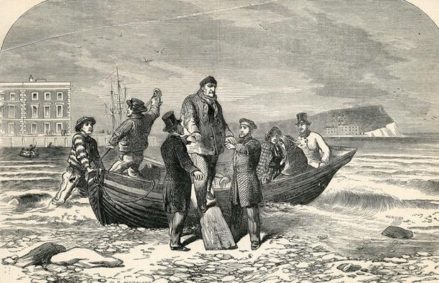 Landing of Louis Phillipe in England, 19th Century