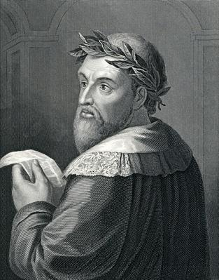Lodovico Ariosto, engraved by R. Hart after Raffaelle Morghen, 19th Century