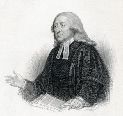 Revd. John Wesley A. M., engraved by S. Freeman, published by Arched Fullarton & Co., 19th Century