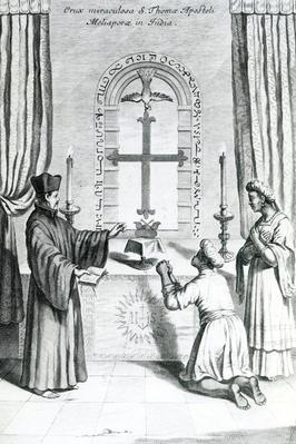 The Shrine of Saint Thomas at Meliapore, 1667