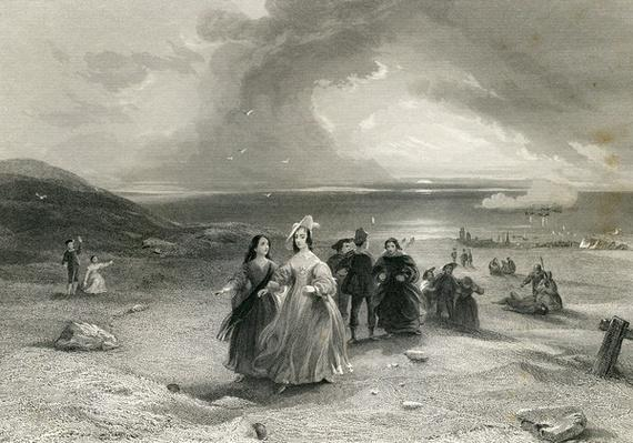 The Queen at Burlington, by R. Wallis, 1844